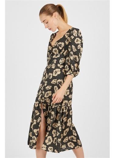 Never More Vintage Elbise Siyah